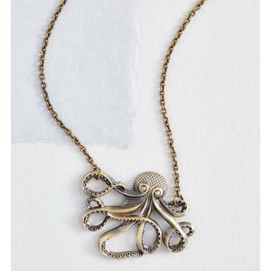 Octopus necklace!